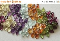 45% ON SALE Multi Gemstone Necklace Multi by gemsforjewels on Etsy