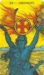 Judgment -- Morgan Greer Tarot ... Integration and Empowerment Personified