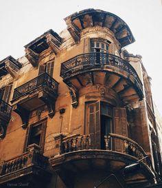 اسكندرية , محطة الرمل   الصورة لـ هينار شريف #Alexandria #Egypt # travel #buildings #architecture