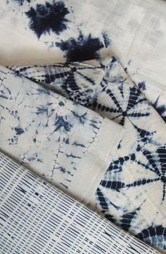 Shibori is a Japanese term for several methods of dyeing cloth with a pattern by binding, stitching, folding, twisting, compressing it, or capping. Some of these methods are known in the West as tie-dye.