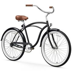 Men's sixthreezero Classic Edition 26-Inch Beach Cruiser Bike, Black