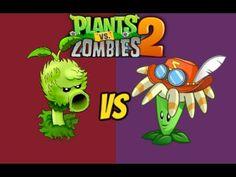Plants vs Zombies 2 Bloomerang Vs Primal Peashooter