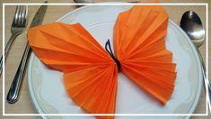 Servietten Falten Schmetterling 👈   Falten Mit Kindern Servietten Falten  Für Kinder Falten Mit Kindern