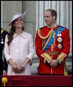 Kate Middleton - The Royal Family participates in the annual tradition of Trooping the Colour, also known as 'The Queen's Birthday Parade,' in London