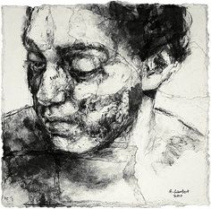 alison lambert Abstract Charcoal Art, Charcoal Drawings, Schizophrenia Art, Drawing Expressions, Drawing Projects, Expressive Art, A Level Art, High Art, Elements Of Art
