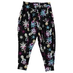 Girls Disney Frozen Harem Pants