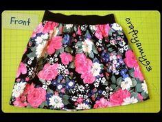DIY Skirt with Elastic Tutorial