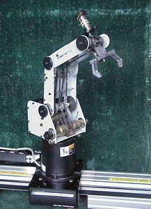 Scorbot ER V Plus Robot ARM Controller Linear Slide Base Conveyor Software | eBay