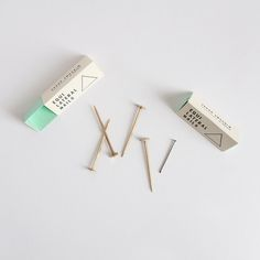 Winsome Brave Shop : Equilateral Nails : Bronze