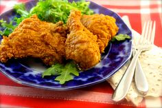 Fried Buttermilk-Garlic Chicken   La Bella Vita Cucina