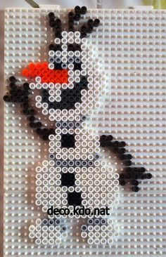 Olaf - Frozen hama perler beads by Deco.Kdo.Nat Plus