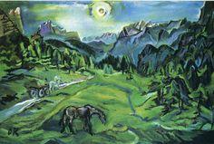 artist oskar kokoschka | Oskar Kokoschka Paintings, Art, Painting, Pictures, 145