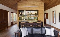 New York firm Lang Architecture is the latest design practice to dabble in property development, aiming to break into the scene with their newest venture; Hudson Woods Development consists of 26 homes located throughout a plot of 131 acres. The cabins,...
