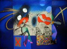 Roberto Chichorro Roberto Chichorro nasceu em 1941 em Lourenço Marques. Dedicou-se desde cedo à pintura, onde expressa toda a magia das... Gustav Klimt, Spanish, African, Abstract, Drawings, Illustration, Paintings, Fish, Pop