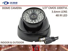 "$24.10 (Buy here: https://alitems.com/g/1e8d114494ebda23ff8b16525dc3e8/?i=5&ulp=https%3A%2F%2Fwww.aliexpress.com%2Fitem%2FCCTV-Camera-Free-Shipping-1-3-CMOS-1000TVL-Security-Camera-Waterproof-Night-Vision-48-Led-IR%2F32217176080.html ) CCTV Camera Free Shipping 1/3"" CMOS 1000TVL Security Camera Waterproof Night Vision 48 Led IR  Dome Surveillance Camera AC20-10B for just $24.10"