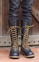 Mens Red Wing 16-inch logger-lineman boots US shoe size 11E work/safety