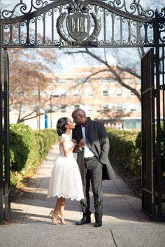 Real Engagements { Washington D.C.}: Courtni & Dale! - Blackbride.com