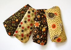 Set of 4 Clutches / Perfect for your Bridesmaids by SweetPeaTotes, $98.00