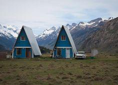 Weekend Cabin: A-frame, El Chalten, Argentina