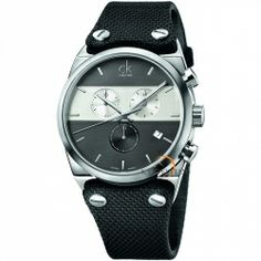 Shop for Calvin Klein Men's Eager Fabric Grey and Silver Swiss Quartz (Battery-Powered) Watch. Get free delivery On EVERYTHING* Overstock - Your Online Watches Store! Ck Calvin Klein, Calvin Klein Watch, Best Watches For Men, Cool Watches, Unique Watches, Casual Watches, Hugo Boss, Timberland, Tommy Hilfiger