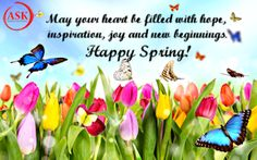 Happy Spring from Alliance for Safe Kids!
