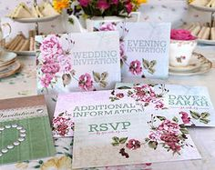 Wedding invites and stationery | Time for Tea