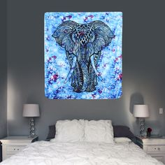 100% of buyers enjoyed this product! #bedroom #livingroom #diy #handmade #best #modern #design #bohemian #beautiful #wallhanging #Colorful #tapestry #textileart #walldecoration #hippie #inspiration #decorative #interior #off #usa #flooring #office #home #decoration #elephant Colorful Tapestry, Elephant Tapestry, Tapestry Bedroom, Beach Towel, Textile Art, Modern Design, Corner, Wall Decor, Bohemian