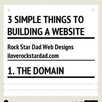 Here's a simple way to think of your website. www.iloverockstardad.com