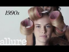 1960's hair!!! 100 Years of Curly Hair | Allure - YouTube