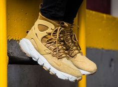 The Nike Air Footscape Mid Utlity Also Gets The Wheat Treatment