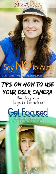 Photography tips for how to use your digital SLR camera on manual settings. Say NO to Auto.