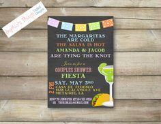 Couples Shower Fiesta  Cinco De Mayo   Custom by SophiasThings, $13.00