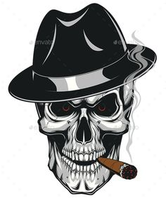 ideas for skull motorcycle tattoo shirts Evil Skull Tattoo, Skull Tattoo Design, Skull Design, Skull Tattoos, Sleeve Tattoos, Art Tattoos, Rauch Tattoo, Smoke Tattoo, Skull Stencil
