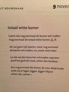 totaal witte kamer - Gerrit Kouwenaar