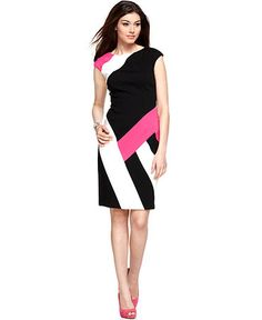 typical stripe dress