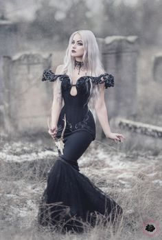 Model: Silverrr Photo: Aneta Pawska - Enchanted Stories Clothing: Royal Black Couture & Corsetry Find more on G&A Magazine issue 10 HERE Welcome to Gothic and Amazing  www.gothicandamazing.com