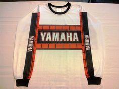 Vintage YAMAHA Motocross Jersey - VMX - AHRMA - Vinduro - YZ IT XT TT