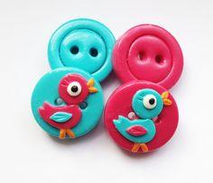 Love hearts set of 4 polymer clay buttons Polymer Project, Polymer Clay Projects, Clay Jar, Sculpey Clay, Jar Art, Little Duck, Porcelain Clay, Button Crafts, Handmade Crafts