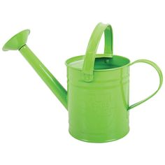 Children's Green Metal Watering Can — Ele and Me