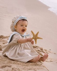 Infant Toddler Beach Sailor Dress   A Day at by correenscdesigns, $125.00