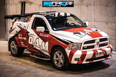 Covering Dodge Ram by Feroce graphics