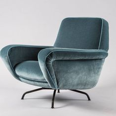 Lounge chair model 830 by Gianfranco Frattini for Cassina, 1955. compasso_items