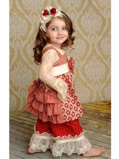 """Persnickety """"Olivia"""" Precious Contrasting Jumper Dress"""
