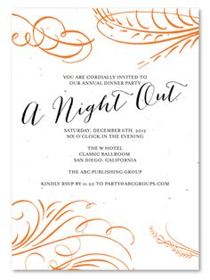 Dinner Invitation Template Free Places to Visit Pinterest