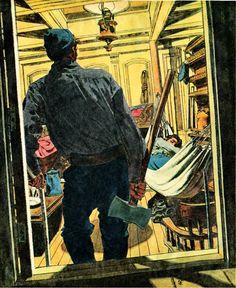 Robert Fawcett - Draftsman Extrordinaire | LIFE NEEDS ART
