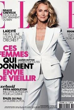 The forever-cool supermodel has appeared on the cover of Vogue a record-setting 28 times, and she appeared nude on the cover of Big magazine—when she was 61.Share this on Facebook?How Celebrities Like Jodie Foster Face Their Fears