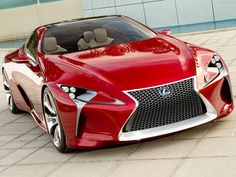 Lexus LF-LC.  This cart will never see the light of day. Car manufactures don't know the first thing about designing cars.