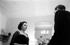 Judy Garland backstage at the London Palladium, 1951