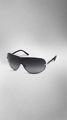 ea36f0b1509c Metal Frame Visor Sunglasses Sunglasses Women