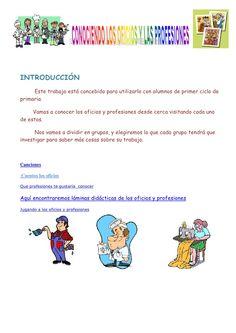 Conociendo los oficios y las profesiones by gabrielamosquera via slideshare